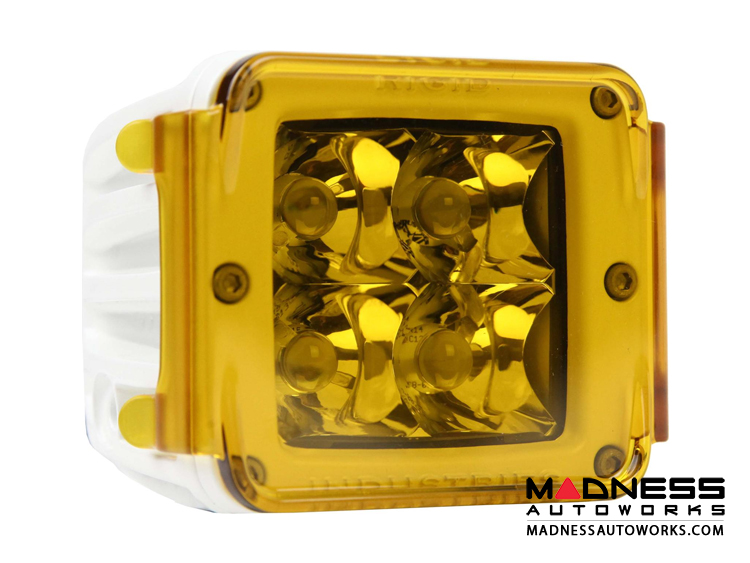 Polycarbonate Dually D2 Protective Cover by Rigid Industries - Amber
